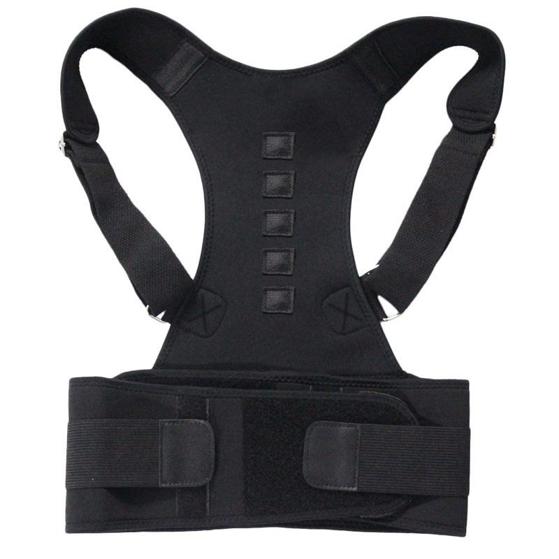 Magnetic Therapy Posture Corrector Shoulder Back Support Belt For Men Women