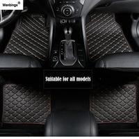 Wenbinge car floor mat For mercedes Benz w211 cla w212 e klasse gla w176 glk w211 w245 gle a180 car accessories styling