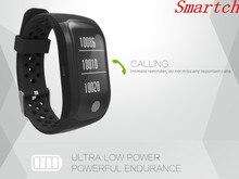 Smartch IP67 водонепроницаемый SmartBand браслет монитор сердечного ритма G-Сенсор тренажерный зал Браслет для Android IOS PK xio Mi mi Группа 2 Smart ИМР