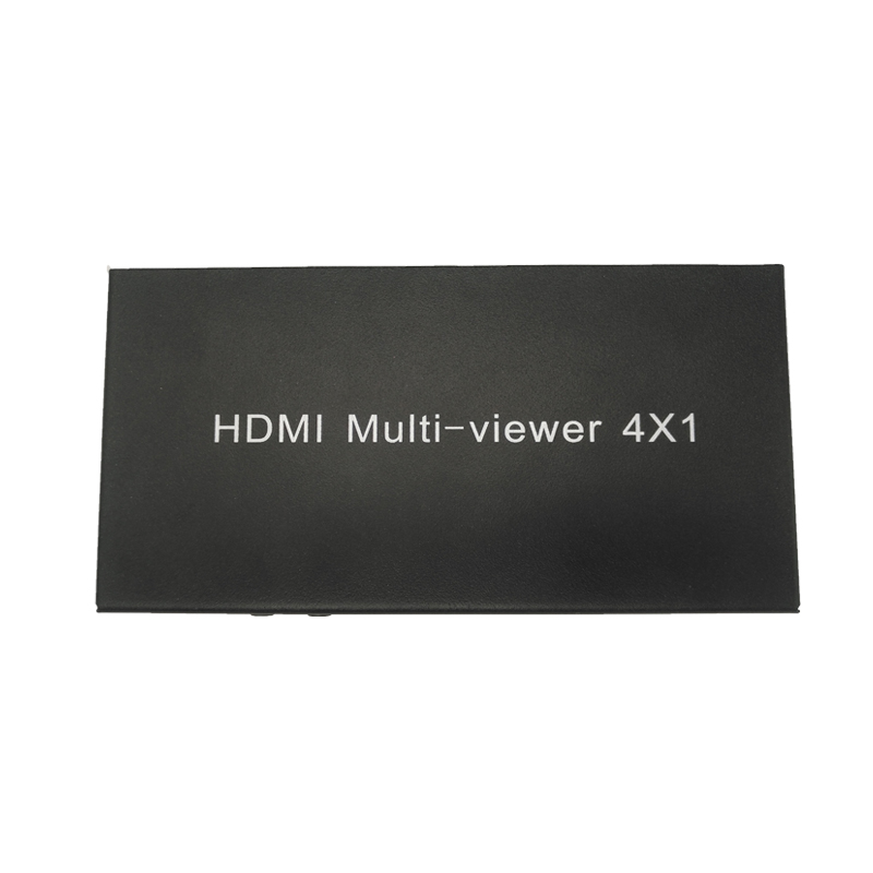 New Arrival 4X1 HDMI Multi-viewer HDMI Quad Screen Real Time Multiviewer with HDMI seamless Switcher function full 1080P&3D цена