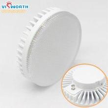 VisWorth GX53 Led Lamp SMD2835 5W 7W 9W 12W 15W 18W Lampada LED Cabinet LED Bulb Spotlight AC 110V220V Warm Cold White Led Light
