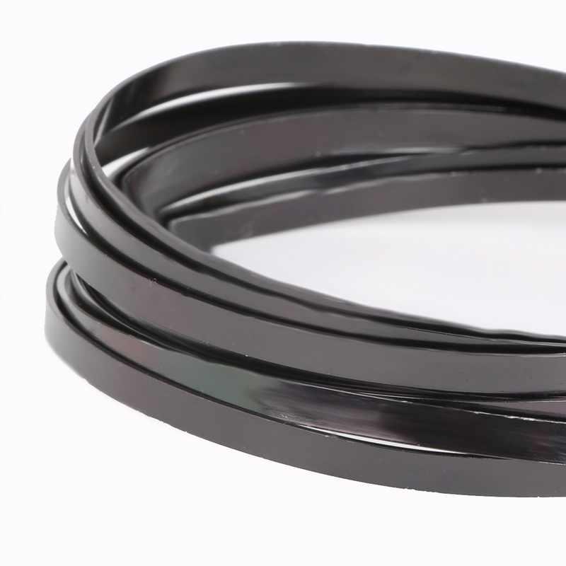 1/1/1/2/2.5/5mm miękki czarny drut aluminiowy żyłka do nawlekania koralików na naszyjnik bransoletka tworzenia biżuterii biżuteria diy akcesoria
