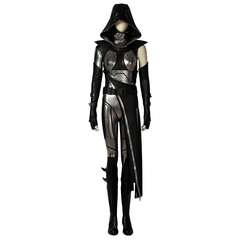Hot Game Fate Cosplay Costume Halloween Party Adult Epic Games Carnival Outfit Full Set with Boots Custom Made