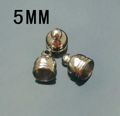 25pcs 5MM METAL CAPS NICKEL-PLATED Item