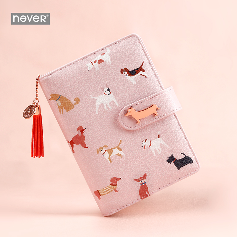 Never Sausage Dog Design Notebooks And Journals A6 Planner Organizer With Filler Paper Set Student School Stationery Supplies
