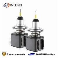 With SAMSUNG Chips H4 H7 LED Headlight Bulbs H11 H1 9005 9006 D1S D2S 10000LM 6500K Car Led Auto Headlamp Headlights Fog Lights