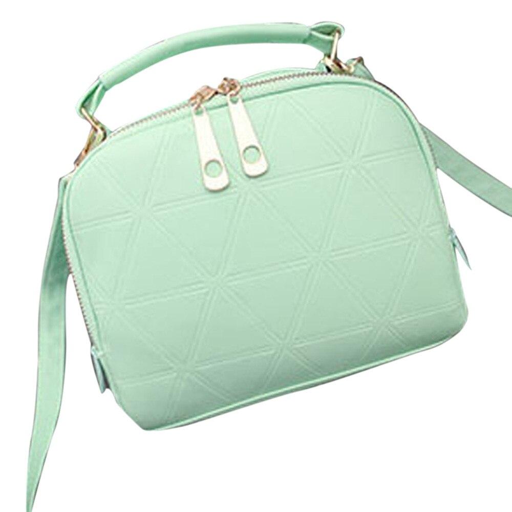 цены  2017 New Fashion PU Leather Women Messenger Bags luxe cuir Handbag Shoulder Bag sac a main femme de marque Lady Tote Purse