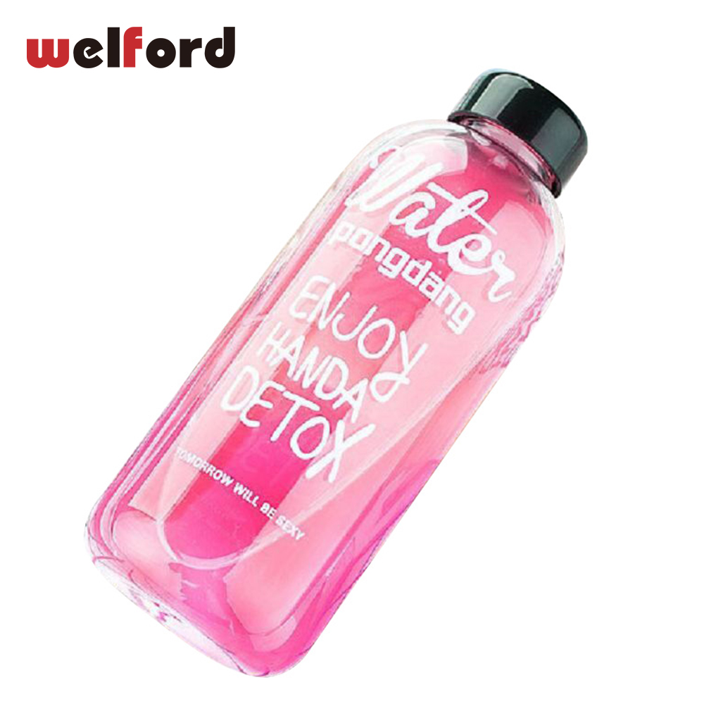 1000ml Fashion Scented Tea Large Water Bottle with Bag Water Bottle For Children Capacity Portable BPA Free PP Plastic Sports