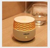 Umidificador mini máquina de aromaterapia casa escritório ultra-som atmosfera perfumada colorida luz da noite