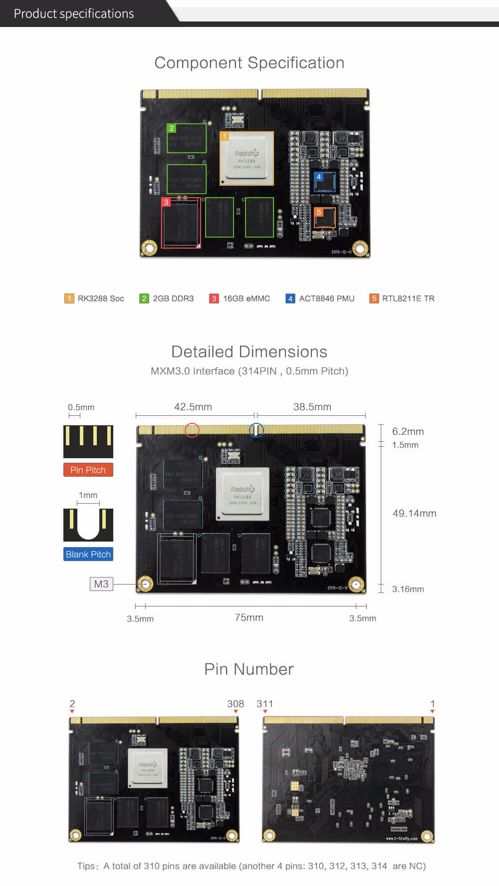 Firefly ,Core 3288J, RK3288 Reload CoreBoard , Quad core A17