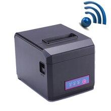 Высокое качество Wi-Fi и lan pos 80 мм Термальность чековый принтер с автоматическим резаком и 300 мм/сек. Поддержка печати 58 и 80 мм бумаги HS-E81ULW