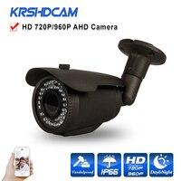 Outdoor 720P 960P AHD TVI CVI CVBS 1 0 1 3MP CCTV Camera 4 In1 Cameras