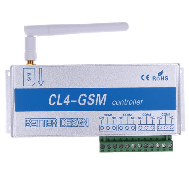 CL4-GSM Electrodomésticos Relé Controlador de TV Lámpara de Pie Wifi Router Inalámbrico Inteligente GSM SMS Controlador Remoto