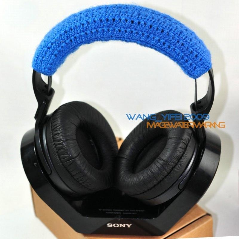Pure Wool Headband  Head Band Top Pads Cushion For Sony MDR RF 970R 970RK 925R 925RK 960R Headphone