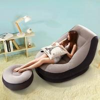 Хит продаж творческого досуга спальня одного человека погремушка надувной балкон сон кровать раскладной диван ленивый стул