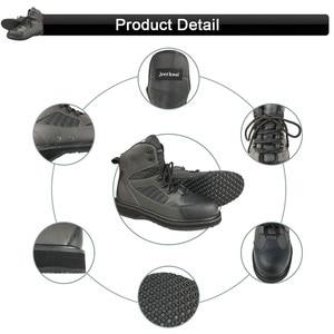 Image 5 - Botas de pesca con mosca para hombre y mujer, pantalones y zapatos de pesca con suela de goma, traje impermeable, mono al aire libre, ropa de trabajo aguas arriba DXR1