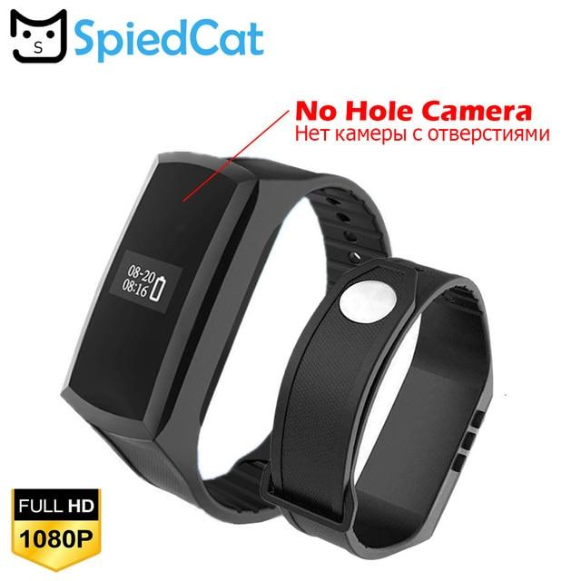 X18S Banda Inteligente com HD 1080 p Mini Câmera Filmadora Câmera Secreta Pedômetro Pulseira Inteligente Pulseira Relógio de Gravação De Vídeo De Voz