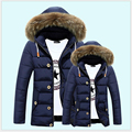 2017 New Fashion Winter Jacket Men Breathable Warm OutdoorSport Coat Parkas Thickening Casual Cotton-Padded Jacket 3XL  B007