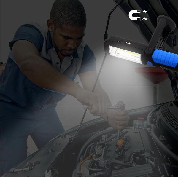 Super Brillante Carga USB 36 + 5 Linterna LED Luz de trabajo Antorcha - Iluminación portatil - foto 6