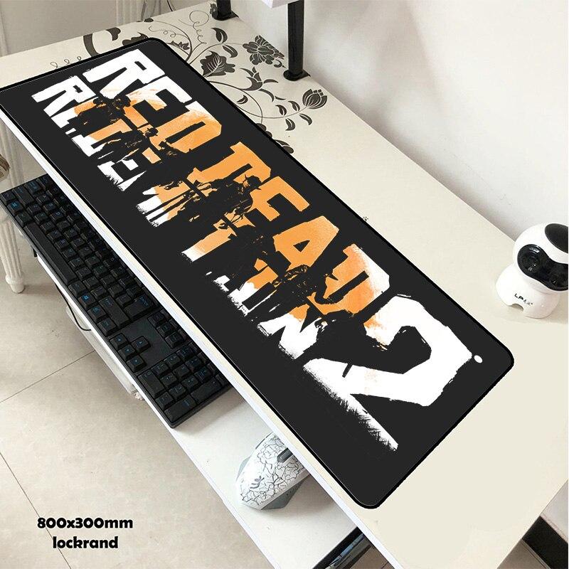 Rot Toten Erlösung 2 maus pad 80x30 cm pad maus günstigste computer mauspad gaming mauspad gamer laptop HD druck maus matten