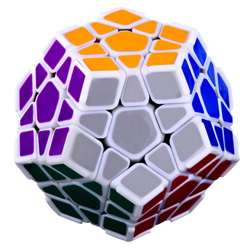 OMoToys DaYan Megaminx Je 12 axe 3 Rang Dodécaèdre Magic Cube avec Coin Ridges