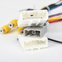 Auto Radio Audio Kabelboom Adapter voor Nissan Qashqai 2008 2012 Ondersteuning Fabriek Camera Bose Versterker Alleen voor Dasaita DYX028