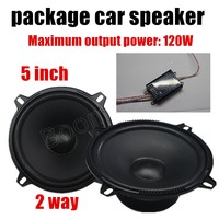 auto door component speakers 5 inch 2 way 2x120W car package speaker stereo audio speaker for all cars