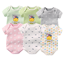 La MaxZa 6pcs/lot Newborn Babies Girls Boys Body Infant
