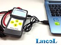 LANCOL 30-200Ah MICRO-200 Barato 12 V Automotivo Testador de Bateria de Carro com USB para impressão