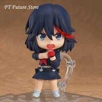 10 cm de PVC de Nendoroid matar a la a Matoi Ryuuko #407 de acción Anime figuras de PVC brinquedos colección modelo Juguetes caja de venta al por menor