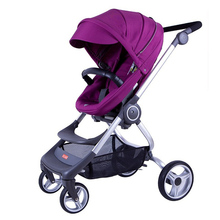 High Landscape Baby Stroller For 0-3 Year Old Baby Can Sit Lying Folding Two-way Portable Bebek Arabas Newborn Stroller