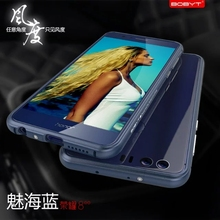 Металлический бампер для Huawei Honor 8 чехол оригинальный LUPHIE Роскошный металлический бампер чехол для Huawei Honor8 авиации Алюминий Рамки Чехлы