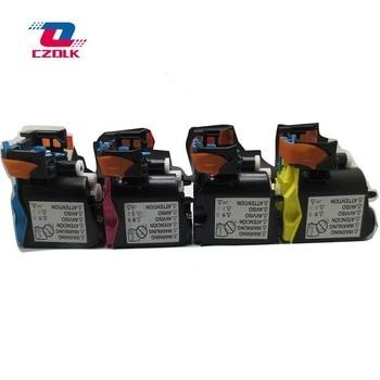 цена на New compatible TNP22 toner cartridge for Konica Minolta bizhub C25 C25P C35 C35P K M C Y 4pcs/set Color Toner