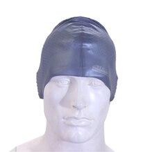 2016 new Women Men's Adults Waterproof Massage Elasticity Silicone Swimming Cap Swim Hat