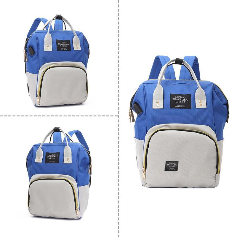 HTB1m.iyQHvpK1RjSZFqq6AXUVXak Zipper Mummy Diaper Bags Maternity Shoulder Handbags Large Capacity Women Travel Backpacks Waterproof Baby Nappy Nursing Bags