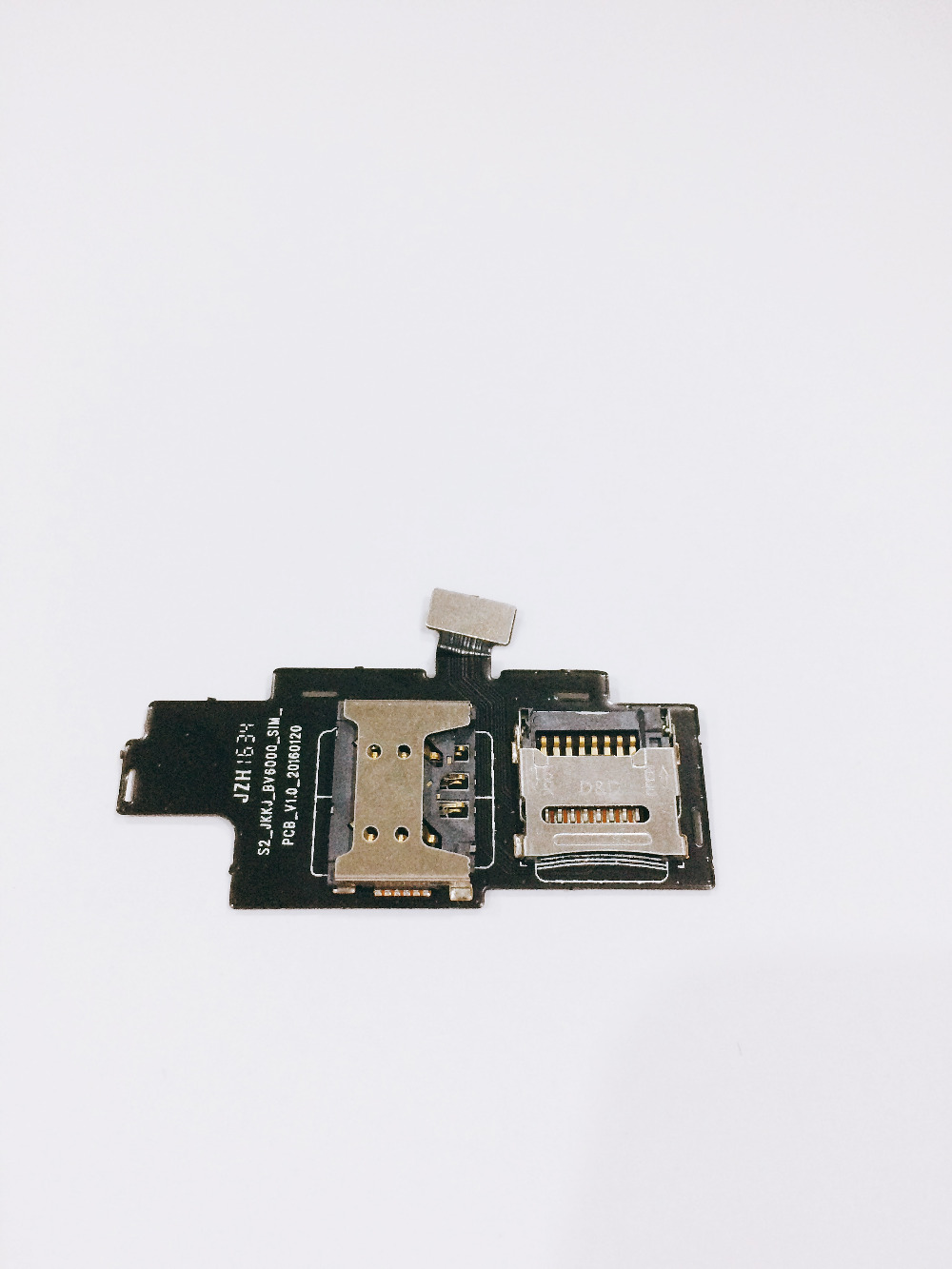 Used Sim Slot Board for Blackview BV6000S 4.7 HD MTK6735 Quad Core Free shipping+tracking