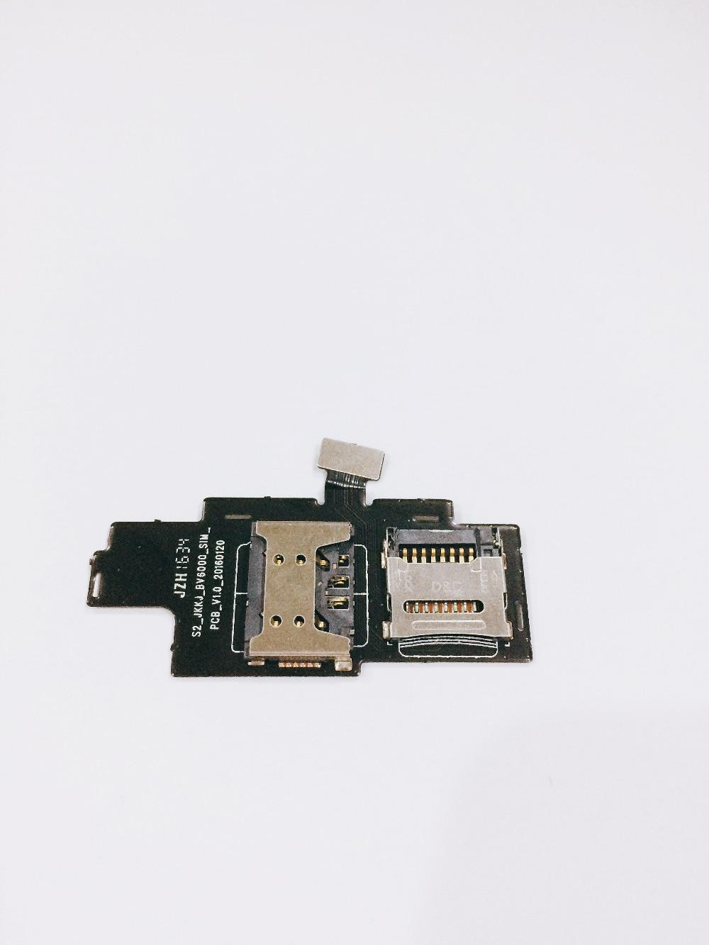 Utilisé Sim Fente de la Carte pour Blackview BV6000S 4.7 HD MTK6735 Quad Core Livraison gratuite + suivi