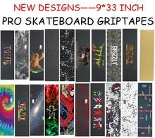 "USA Marke Grizzly Pro 9 ""X33"" Skateboard Griptape Grobe Schleifpapier Für Skateboard Cruiser Deck Anti Schleudern lixa de Skate"