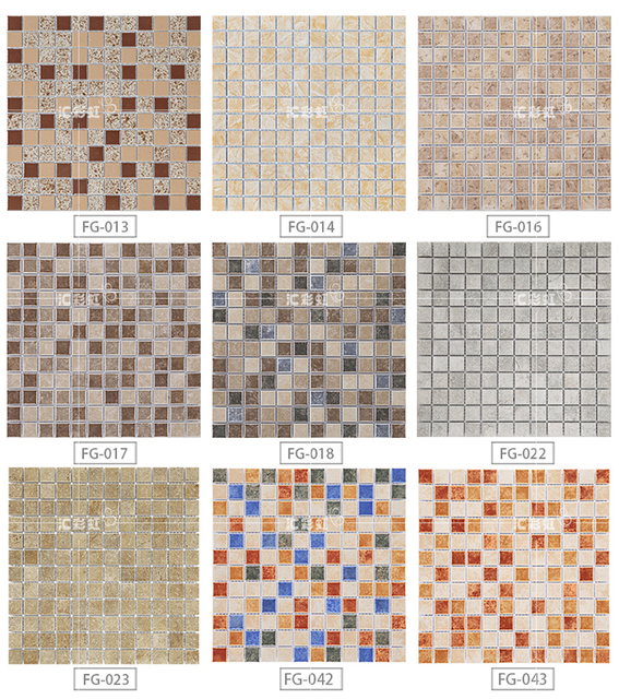 Antique ceramic mosaic tile high quality wall tiles bathroom pool ...