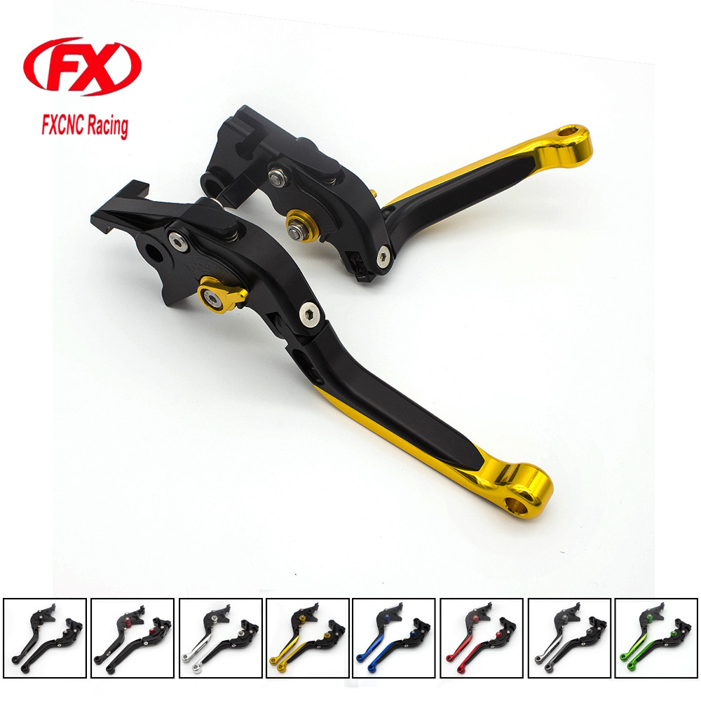 FXCNC Motorcycle Frosted Brake Clutch Lever Folding Extending Levers For HONDA CBR 600 F2 F3 F4 F4i 1991-2007 CBR900RR 1993-1999
