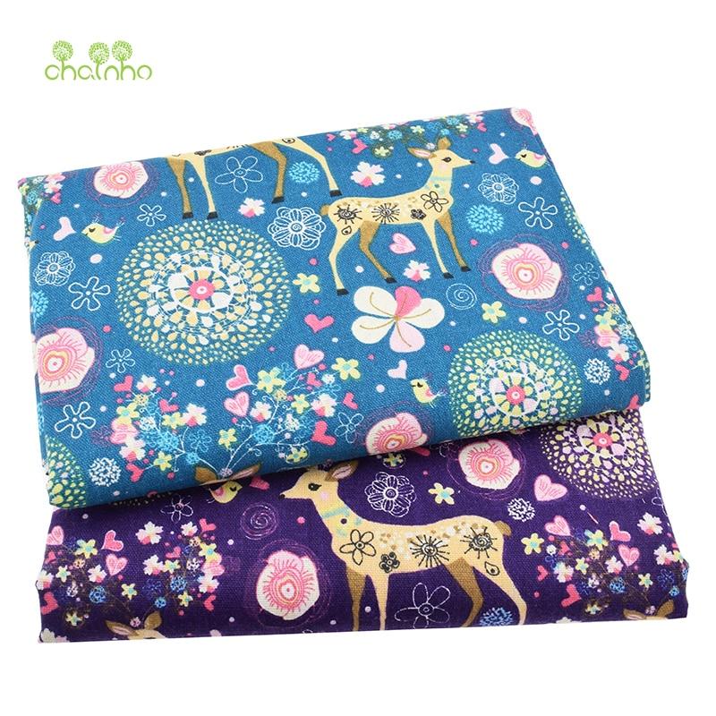 Tiskana pamučna platna tkanina za patchwork prošivanje šivanje DIY - Umjetnost, obrt i šivanje - Foto 3