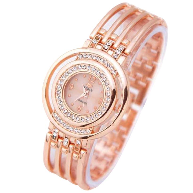 Mode Vrouwen Horloges Armband Ronde Dial Armband Tafel Horloges Relogio Feminino Dropshopping Gratis Verzending #50