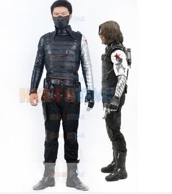 Captain America 2 Winter Soldier Bucky James Buchanan Barnes Costum