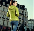 2016 Novo Inverno Sólida Casaco Fino Mulheres Casacos Manteau Femme Algodão Bolso Frontal Roupas Espessamento Curto Pato Para Baixo Parka Casaco