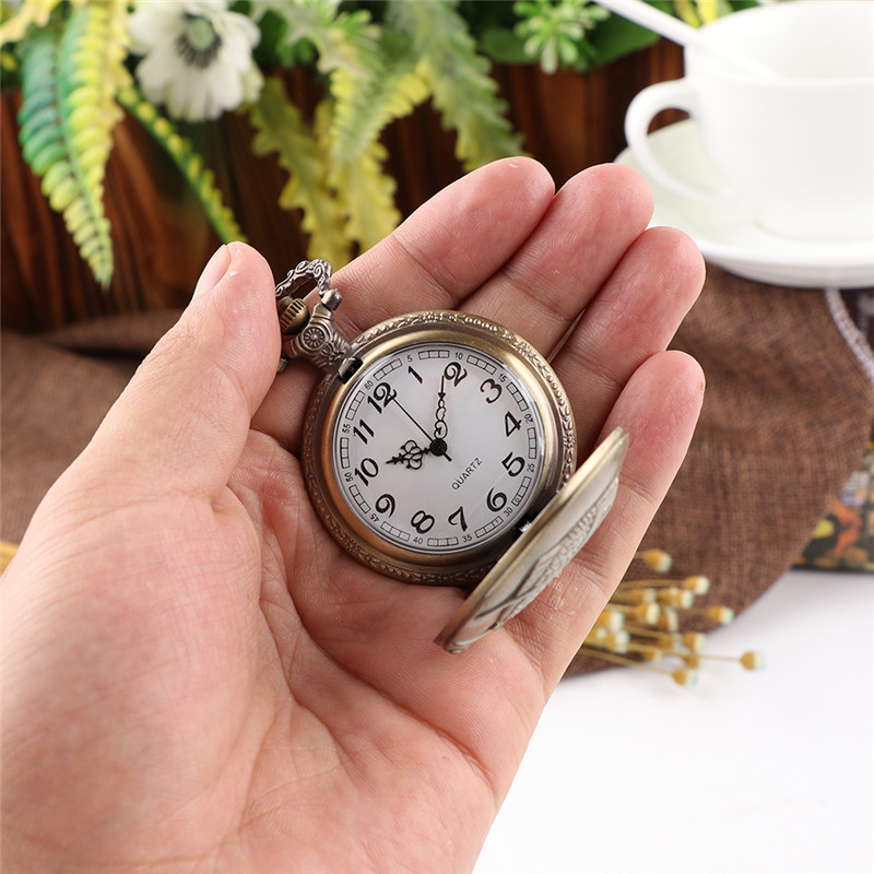 Cindiry New Vintage Bronze Fishing Angling Quartz Antique Pocket Watch for Men and Women P0.2 илья стогоff проект лузер эпизод третий исчезнувшая рукопись