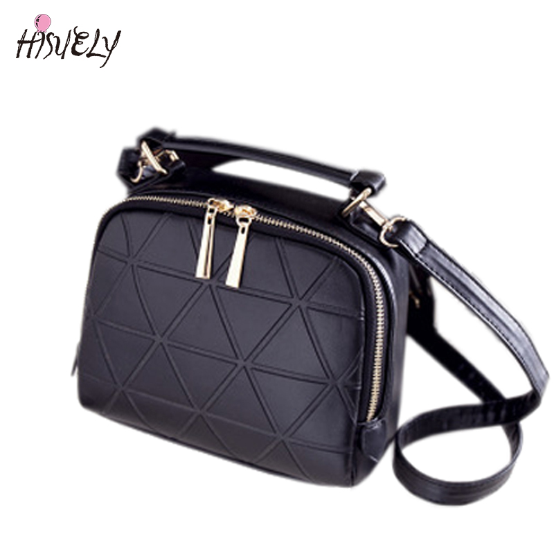 HISUELY New Fashion Handbags Flap bag Candy Color Women Shoulder Bags Messenger Bags Female Lady Pink Crossbody Bag BAGM6243