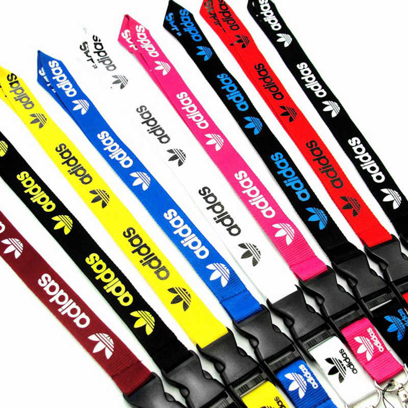 New Arrival Hot-selling Polyester Cell Phone Neck Lanyard Neck Straps for Smartphone Key ID Card Keychain