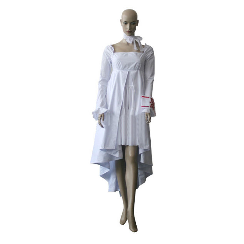 Vampire Knight Yuuki Cross White Gown font b Cosplay b font costume for Halloween Christmas day