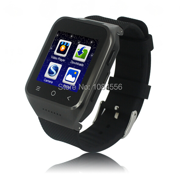ZGPAX S8 Smartphone Smart Watch Phone Android 4.4 MTK6572 Dual Core 1.5 Inch WIFI GPS 2.0MP Camera 3G WCDMA Bluetooth цена