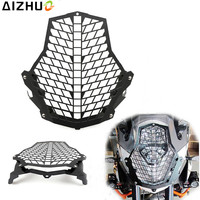 For KTM 1190R 1190 Adventure 1290 Super Adventure Motorcycle Headlight Guard Grill Stainless Steel Front Lamp Light Protector